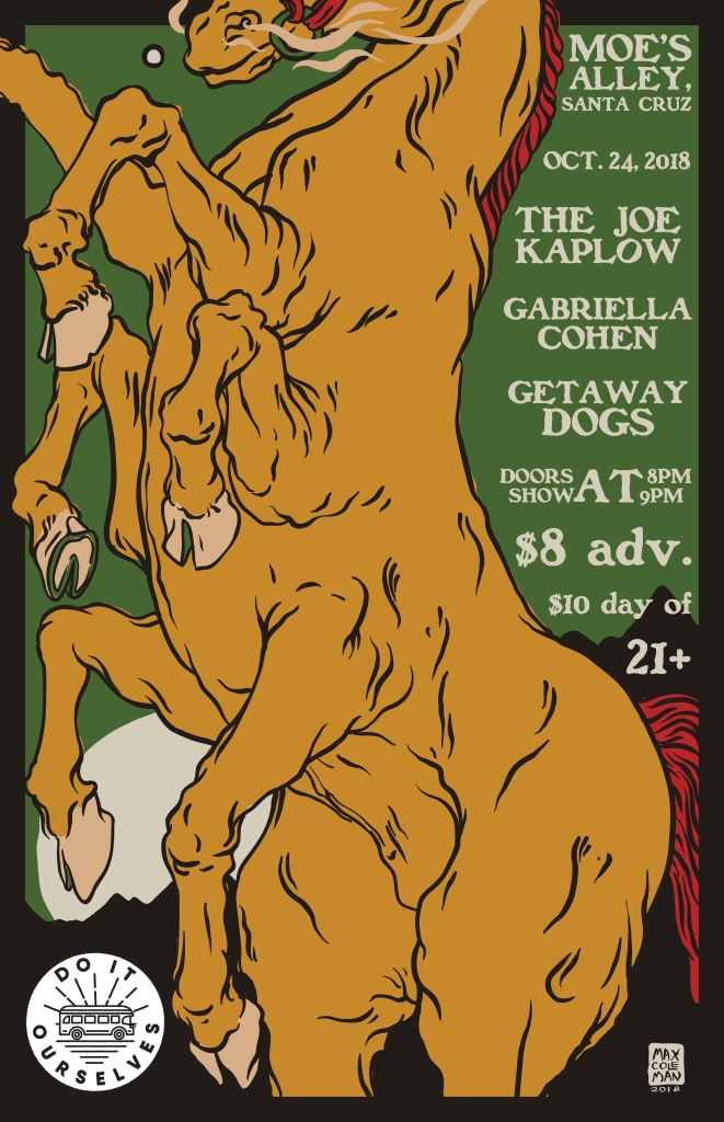 Get Away Dogs Gigi Poster 3